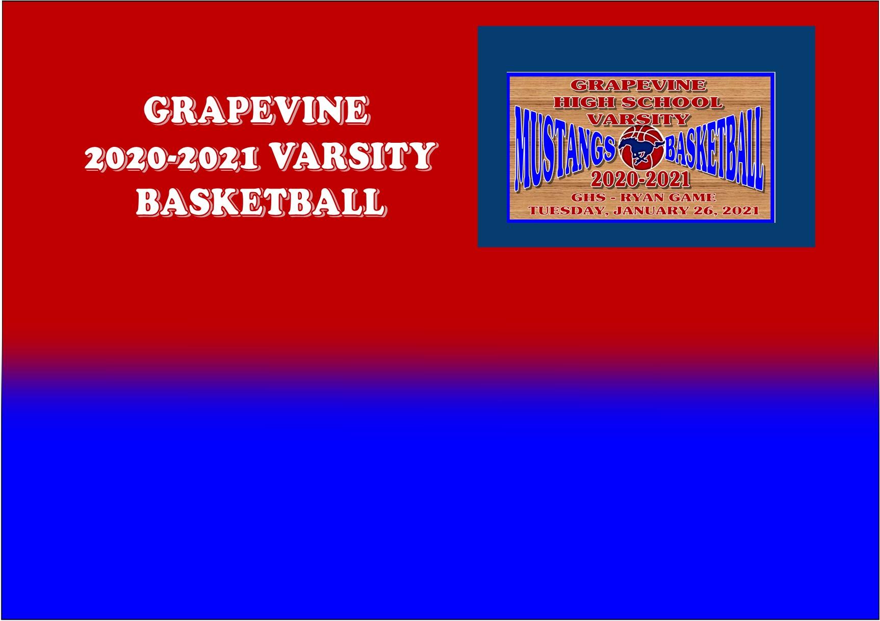 GCISD Basketball: Grapevine Mustangs Shocked By The Ryan Raiders 50-65