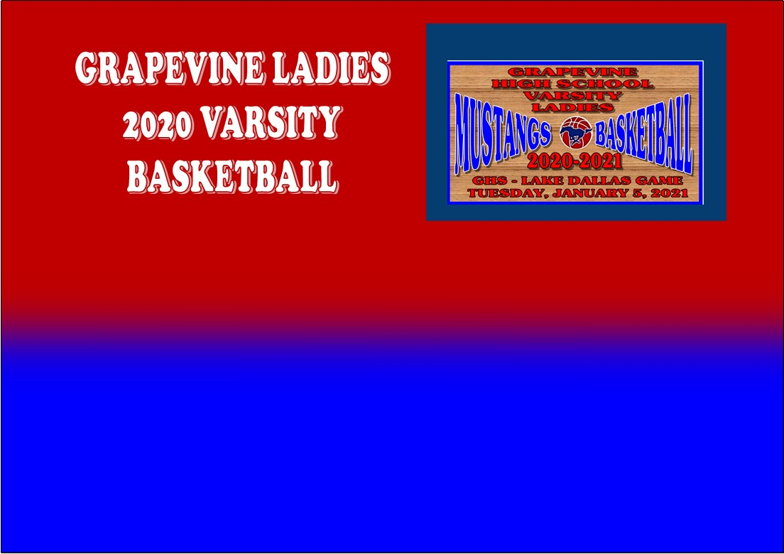 GCISD Ladies Basketball: Grapevine Mustangs Lose to Lake Dallas Falcons In Overtime 69-66