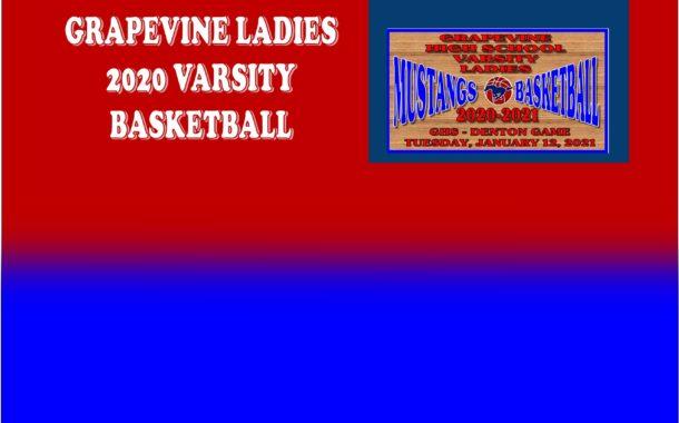 GCISD Ladies Basketball: Grapevine Mustangs Roll Over The Denton Broncos 44-21