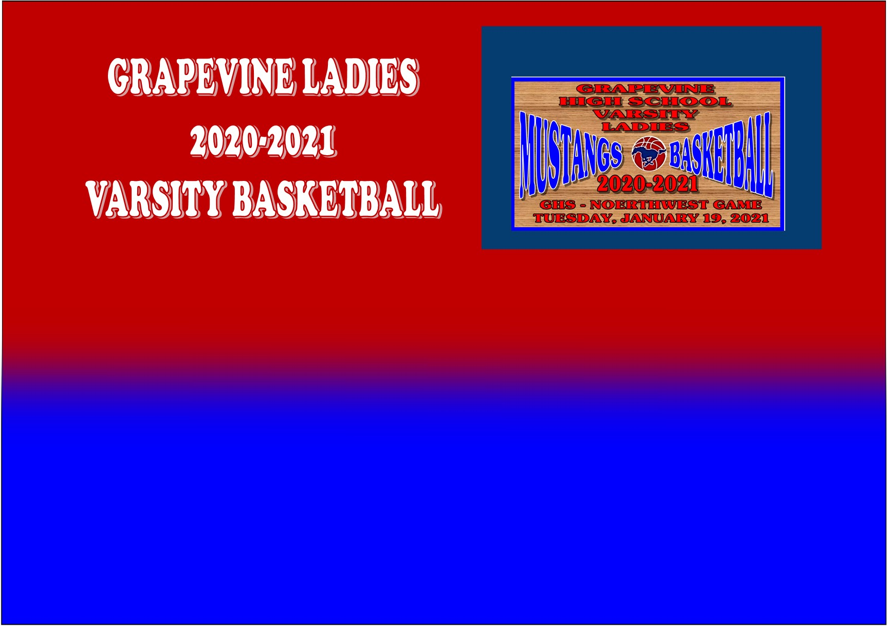GCISD Ladies Basketball: Grapevine Mustangs Slip Past Northwest Texans 33-31
