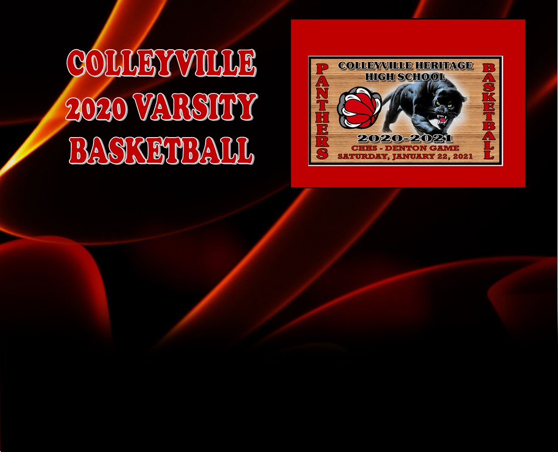 GCISD Basketball: Colleyville Panthers Roll Past Denton Broncos          74-65