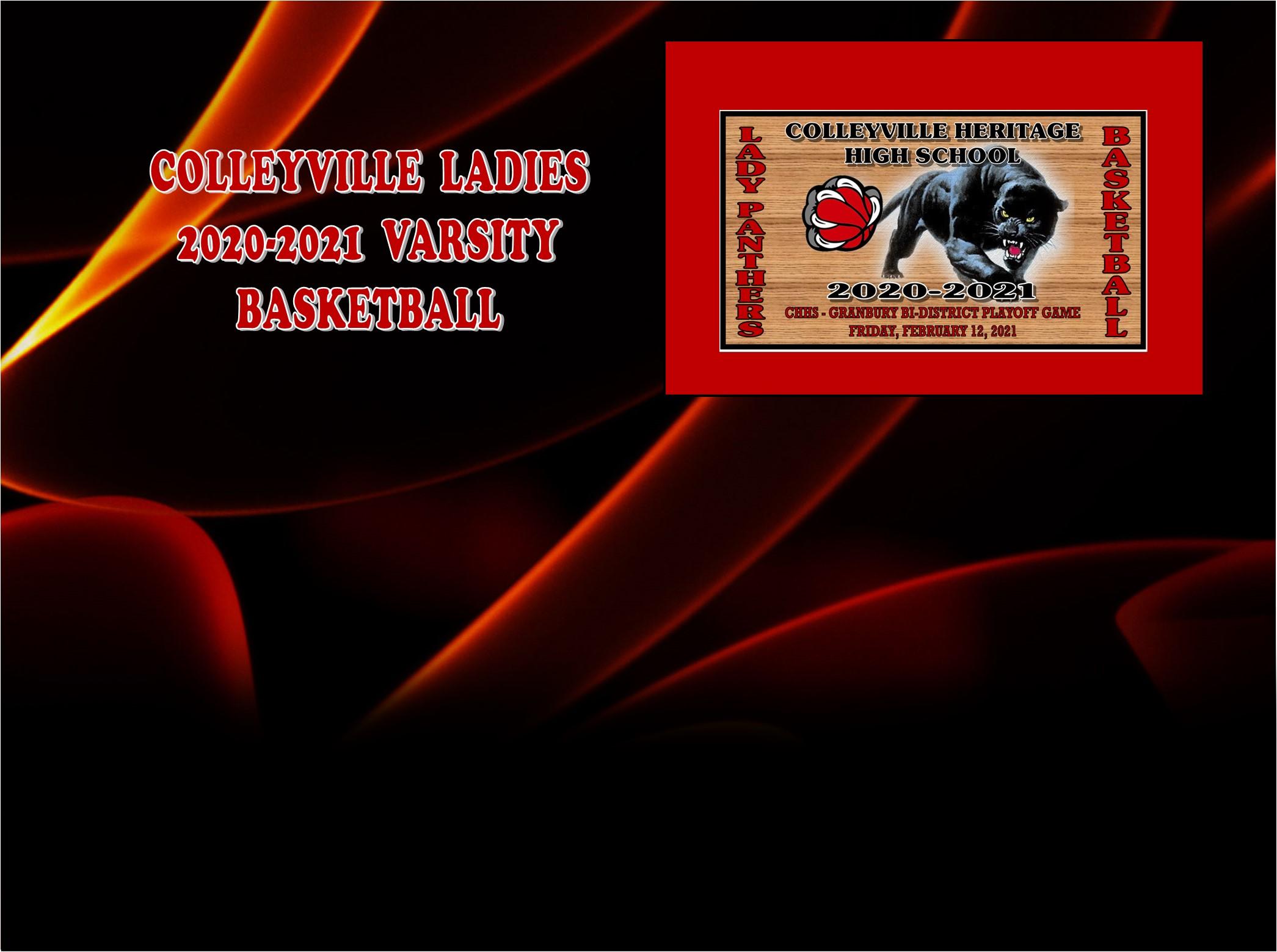 GCISD Ladies Basketball: Colleyville Panthers Lose Bi–District Playoff Game To The Granbury Pirates 38-54
