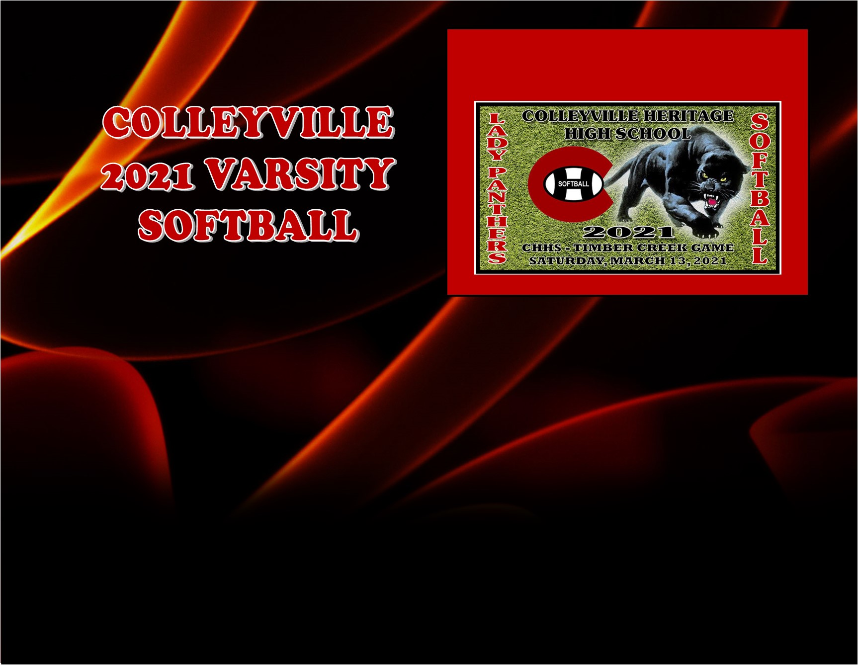 GCISD Softball: Colleyville Panthers Tripped Up by Timber Creek Falcons 5-1