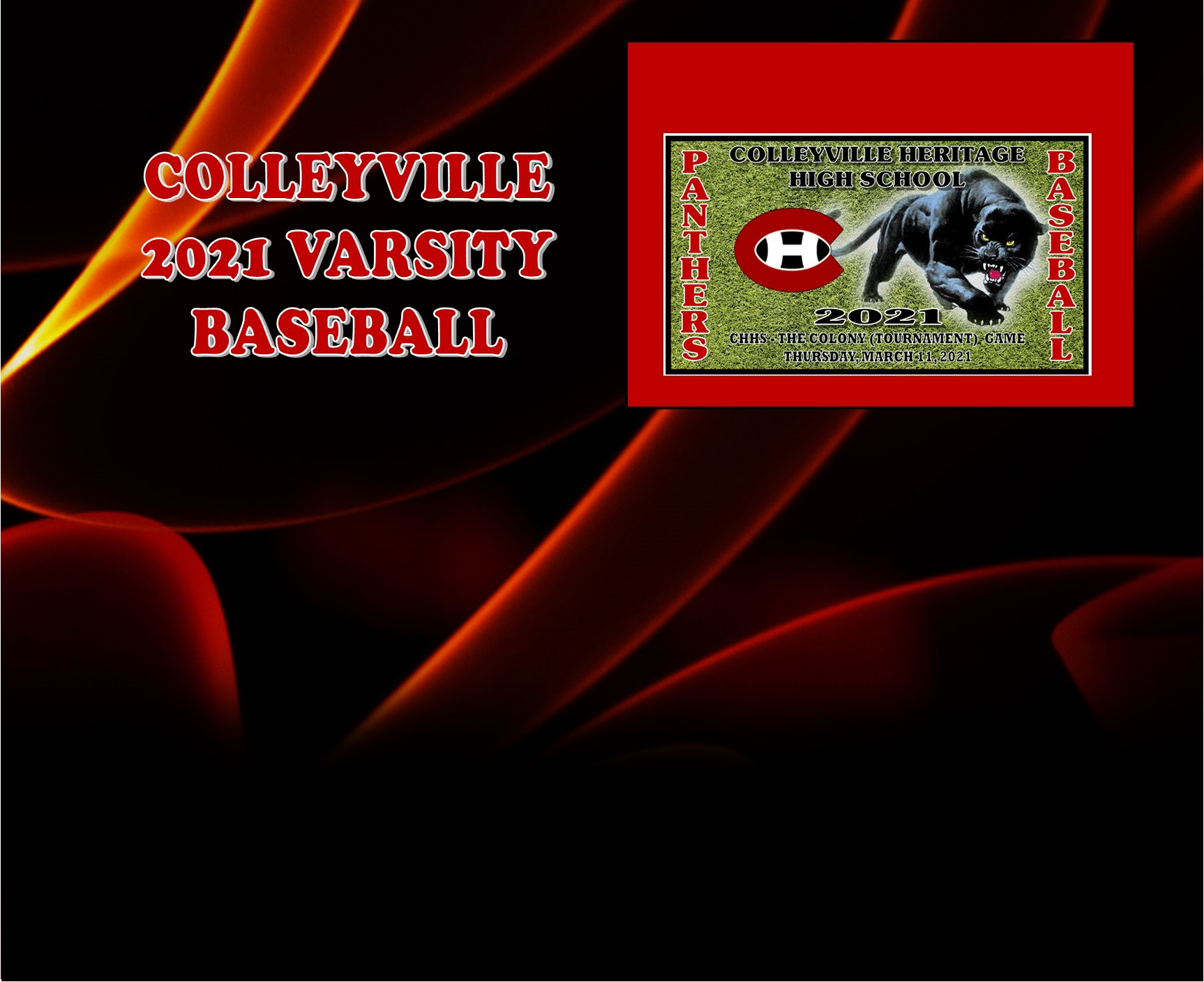 GCISD Baseball: Colleyville Panthers Stunned by Grapevine Mustangs 8-3