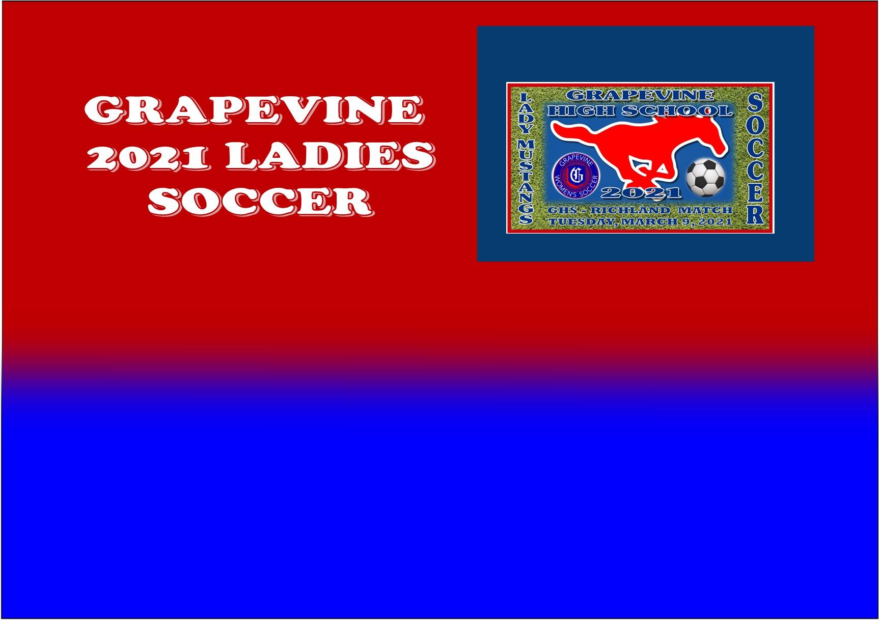 GCISD Ladies Soccer: Grapevine Mustangs Punish Richland Royals 6-0
