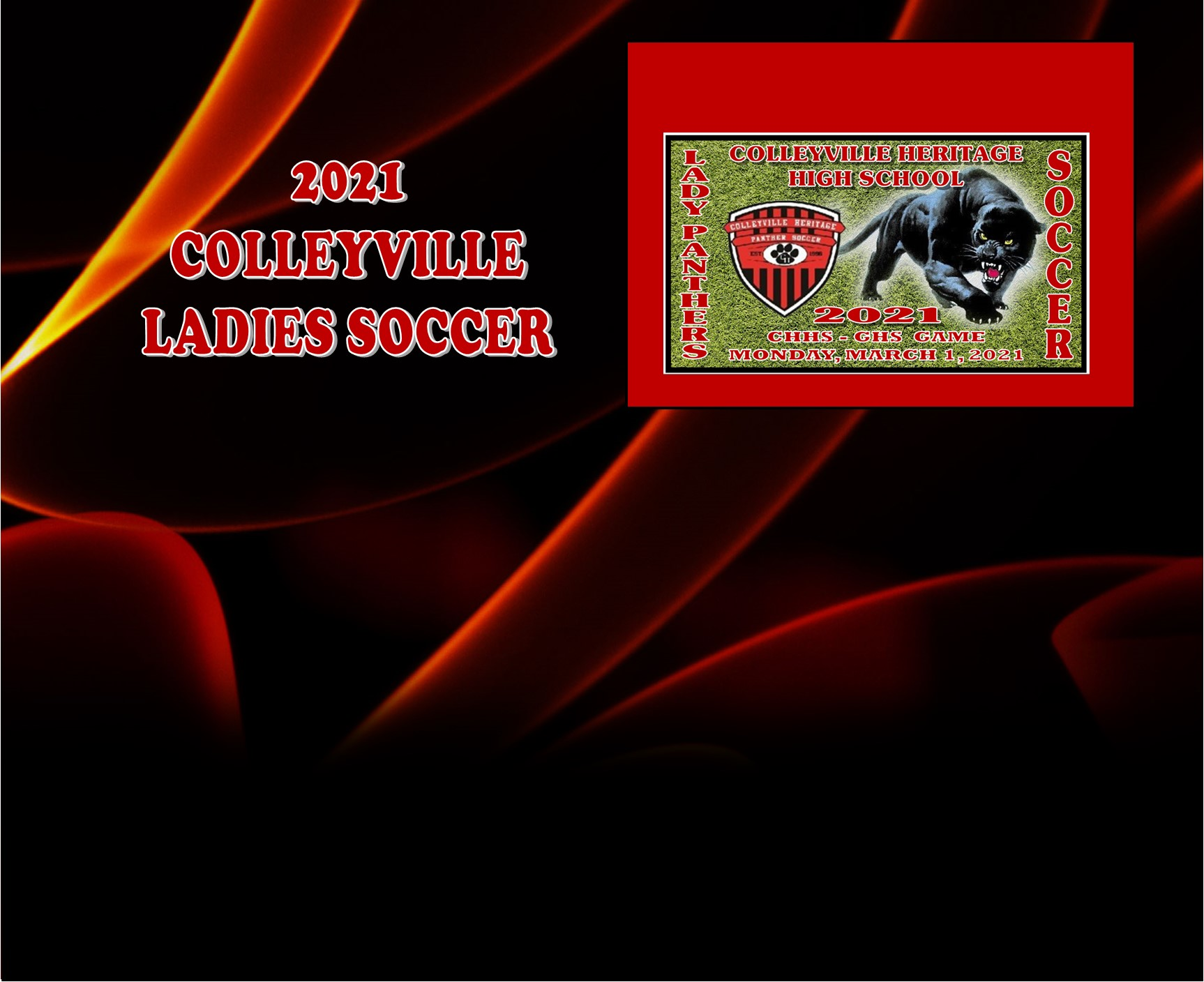 GCISD Ladies Soccer: Colleyville Panthers Fall to the Grapevine Mustangs 2-3