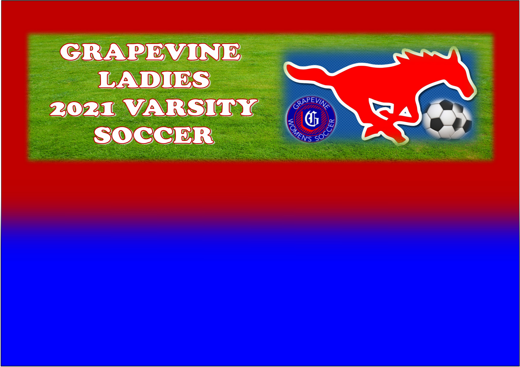 CORRECTION - - GCISD Ladies Soccer: Grapevine Mustangs Going to State After Defeat of Amarillo Sandies 3-1