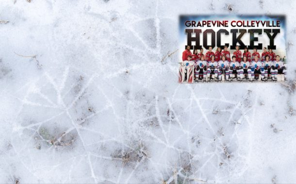 Grapevine Colleyville Varsity Silver Ice Hockey Team Wins Division Playoff Game and Heads to State Playoffs