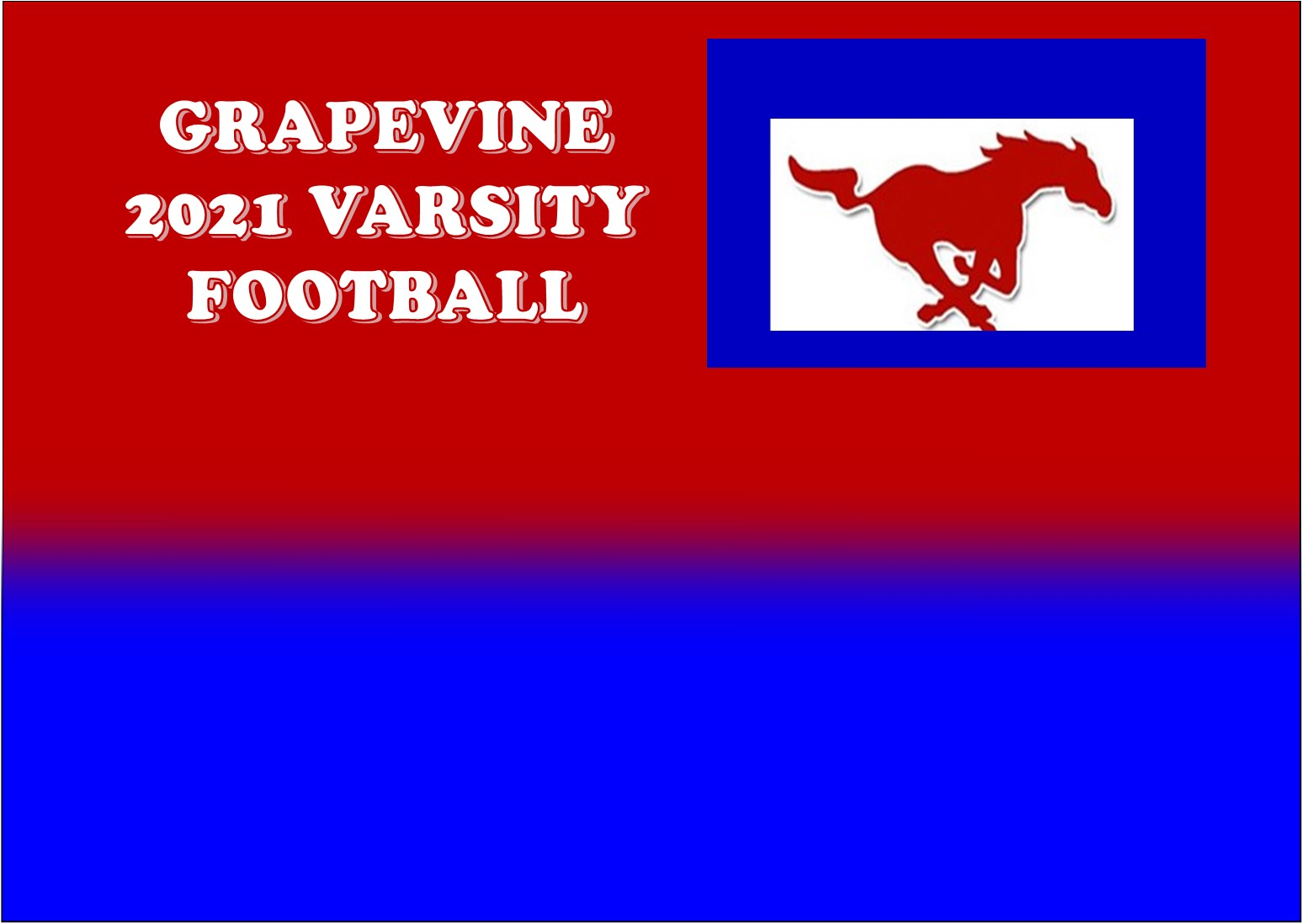 GCISD Football:  Grapevine Mustangs Rout FW Polytechnic Parrots to Win Homecoming Game 72-10